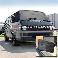 VW T25 TRANSPORTER CAMPER SCREEN CURTAIN WRAP COVER 295 BLACK