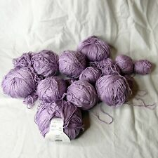Trendsetter Silk Blend Yarn 440 Grams Total Made in Italy Purple Lavender