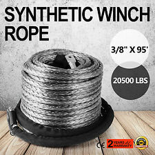EXTREMA 10mm 28m Dyneema Forst- Synthetik- Kunststoff-Seil Seil-Winde Winden-4x4