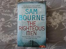 SAM BOURNE THE RIGHTEOUS MEN CRIME THRILLER PAPERBACK