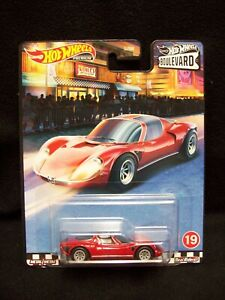 Hot Wheels Cruise Boulevard 1969 Alfa Romeo 33 Stradale.