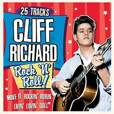 CLIFF RICHARD 25 FABULOUS TRACKS ROCK N ROLL NEW SEALED CD STUDIO + LIVE