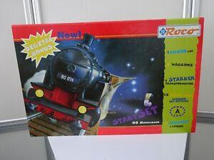 Classic ROCO®  H0 Eisenbahn Dampflock Startset OVP unbespielt Nr 41140 um 1997