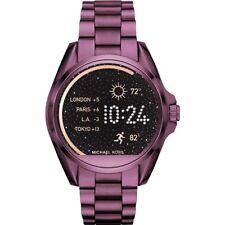 Michael Kors Access Women's Bradshaw Plum Bracelet Smart Watch MKT5017
