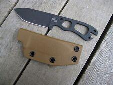 Valhalla Custom Kydex Sheath Ka-Bar Kabar Becker BK 11  COYOTE SHEATH ONLY