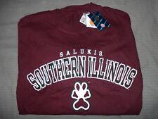 Salukis Southern Illinois Mens Medium Shirt