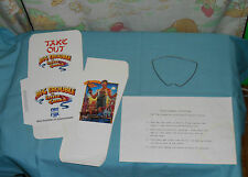 BIG TROUBLE IN LITTLE CHINA video store counter display take-out box new/unused