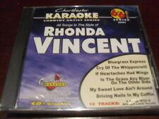 CHARTBUSTER 6+6 KARAOKE DISC 20591 RHONDA VINCENT CD+G COUNTRY MULTIPLEX