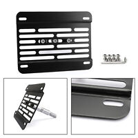 Univers Car Front Bumper Tow Hook License Plate Mounting Bracket Kit/Fit Ford T5