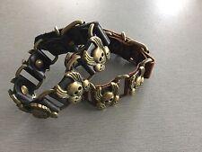 Leather unisex bracelet 028 RRP $29.95