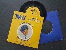 TIVOLI MARY WESTON EP RECORD RANKIN RECORDS AUSTRALIA SIGNED COPY LIKE NEW