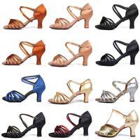 Chicas Niñas Niño Salón de baile Zapatos de baile latino de tango Salsa de tacón