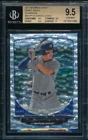 BGS 9.5 AARON JUDGE 1st 2013 Bowman Draft SILVER ICE Rookie Card RC GEM MINT