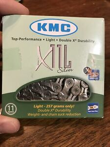 KMC X11L SILVER 11 Speed Road Bike Chain fit Shimano SRAM CAMPAGNOLO 257g