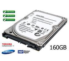 """160 GB 5400 RPM / 8 MB di cache 2.5 """"Sata Per Laptop Disco Rigido Aggiornare-leggere annuncio"""