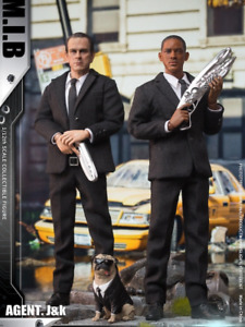 Pre-order 1/12 PCTOYS PC022 Man in Black Agent J & K 6 inches Figure