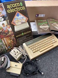 Vintage Acorn Electron Computer Keyboard, Plus 1. Original Box