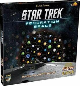 STAR TREK CATAN EXPANSION FEDERATION SPACE