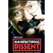 DVD:MANUFACTURING DISSENT - UNCOVERING MICHAEL MOORE - NEW Region 2 UK