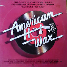 AMERICAN HOT WAX  - SOUNDTRACK - A&M - 2 LP SET- 1978 -50'S HITS & LIVE MATERIAL