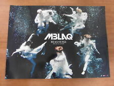 MBLAQ - Blaq Style [OFFICIAL] POSTER *NEW* K-POP