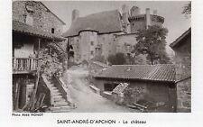 42 SAINT ANDRE D APCHON LE CHATEAU IMAGE 1969 CASTLE OLD PRINT