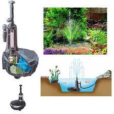 Hozelock Easy Clear 3000 Teichfilter mit UV-C Klärer und  Fontäne / Wasserfall