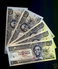 Ethiopia  Lot of 5 Notes 1 Birr 2006 UNC P 46 d