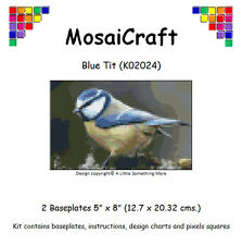 MosaiCraft Pixel Craft Mosaic Art Kit 'Blue Tit' Pixelhobby