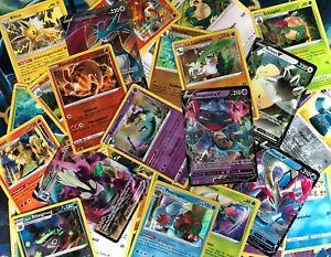 50 Pokemon Karten mit 7 HOLOS/Stern + V oder GX GARANTIERT! Deutsch! NEU!