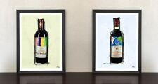 Chateau Mouton Rothschild Wein Vin Pop Art Urban Kunst Modern Gastronomie Bild