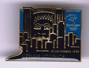 SYDNEY 2000 OLYMPICS AUSTRALIA-UNISSUED RARE GOLD PIN~LICENSEE WORKSHOP #5 of 5