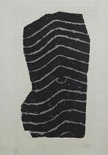 RAOUL UBAC - COMPOSITION - GRAVURE ORIGINALE SIGNEE ET NUMEROTEE - 75 EX - 1975