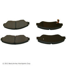Disc Brake Pad Set Front BECK/ARNLEY 089-1612 fits 98-02 Kia Sportage