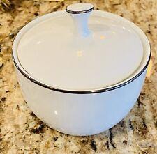 Noritake China Fremont #6127 Sugar Bowl W/lid MINT