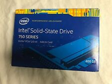 Intel Solid State Drive 750 Series 400 GB Capacity Factory Sealed