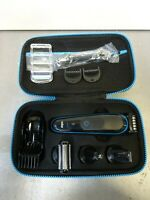 **READ** Braun Multi Grooming Kit MGK3980 Black/Blue 9 In 1 Trimmer Styling Kit