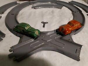 Alte schöne Distler Autobahn - Blechspielzeug