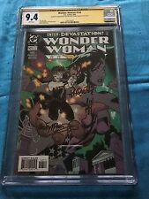 Wonder Woman #143 - DC - CGC SS 9.4 NM -Signed by Adam Hughes, Pacquette, McLeod