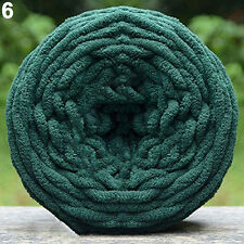 1x DIY SCARF SWEATER TOWEL THICK YARN KNITTING CHUNKY TOWELLING YARN BALL