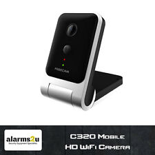 C320 HD 720p Mobile WiFi Camera   Battery Powered   4.2mm Lens   Mobile App