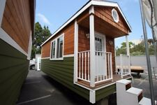 Tiny House Country Cottage 9 x 24  Professionally built on trailer w/ loft