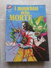 Fumetto NUOVA SERIE MEZZANOTTE n. 2 - I MANICHINI DELLA MORTE -3 STORIE EROTICHE
