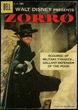 Zorro - Four Color Comics #882 1958- 1st Dell issue- Alex Toth G