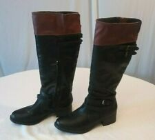 Rampage women's boots size 10 M leather upper