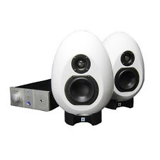 Munro Sonic Egg 100 White Studio Monitoring System BRAND NEW RRP £1299