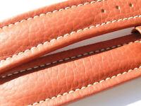 BREITLING BAND 108X 22MM 22/18 KALB BRAUN BROWN STRAP FÜR DORNSCHLIESSE 016-22
