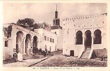 Africa postcard Morocco, Tangier Tanger Place de la Casbah