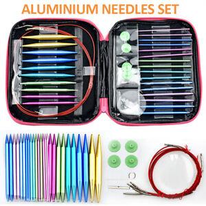 Circular Needle Set Knit Pro Metal Circular Austauschbare Stricknadel Starter