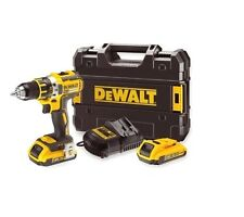Cordless Drill 18v Li-Ion Compact Lightweight Screwdriver Heavy Duty Power Tools